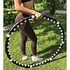 Масажний спортивний обруч HULA HOOP Professional з магнітами. Складаний Хула Хуп АМ 282, фото 5
