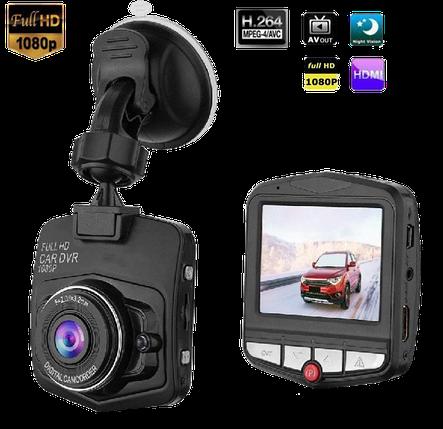 Автомобільний відеореєстратор DVR C900 FullHD 1080P Чорний, фото 2