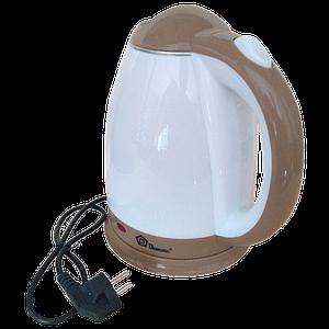 Электрочайник DOMOTEC MS-5025C - Чайник электрический 2.0 л 220V/1500W Коричневый