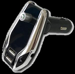 FM модулятор X8 Plus Bluetooth 2 х USB + AUX + MicroSD - MP3 модулятор, фм-трансмітер, блютуз модулятор