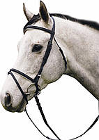 Уздечка выездковая, для лошади
