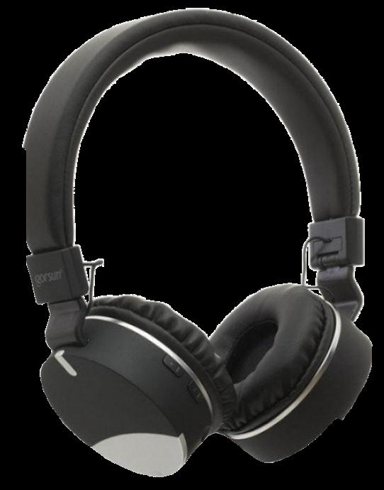 Бездротові навушники Gorsun GS-E86 - Bluetooth стерео навушники з MP3 плеєром і FM радіо (Чорні)