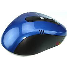 Компьютерная мышка G-108 - мышь беспроводная оптическая синяя, фото 3