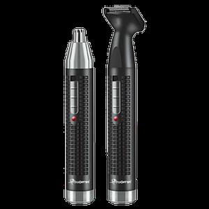 Триммер Gemei GM 3120 2в1 - Электробритва для носа, ушей, висков и шеи, аккумуляторный триммер