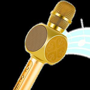 Мікрофон караоке YS-63 2 в 1 - бездротової Bluetooth мікрофон - портативна колонка зі слотом USB + TF card