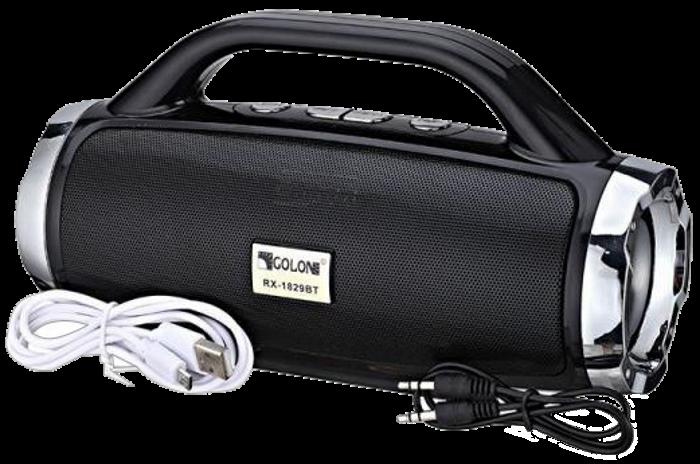 Портативная колонка Atlanfa 1829BT - беспроводная колонка с радио, USB, SD, Bluetooth, дисплеем, сабвуфером