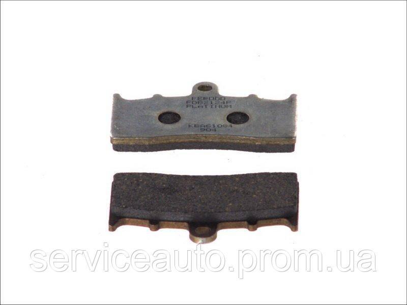 Колодки тормозные дисковые FERODO (FDB2124P)