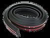 Лип спойлер універсальний Samurai Чорний матовий / 150см х 3,5 см / Скотч 3М, фото 2