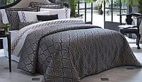 Покрывало Pepper Home Orlando Жаккард 270х260 см с наволочками и декоративными подушками Серый ps, КОД: 945457