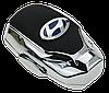 Ароматизатор для автомобиля с логотипом  HYUNDAI (Крепление на решетку, парфюмерная отдушка 5мл, салфетка,, фото 3
