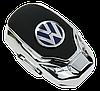 Ароматизатор для автомобиля с логотипом  VOLKSWAGEN (Крепление на решетку, парфюмерная отдушка 5мл, салфетка,, фото 3