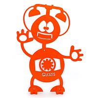 Вешалка настенная Детская Glozis Robot Phone H-008 26 х 22 см, КОД: 241748