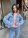 Модная Куртка Женская Джинс, фото 5