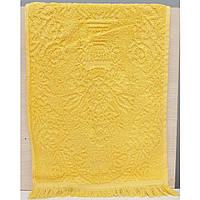 Кухонное полотенце vip жаккард 30x50 ярко-желтое Zeron (16834)