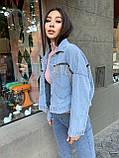 Модная Куртка Женская Джинс, фото 3