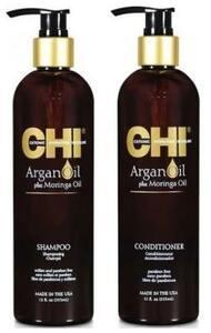 Відновлюючий шампунь + Кондиціонер CHI Argan Oil Shampoo 355 мл+ Conditioner 355 мл