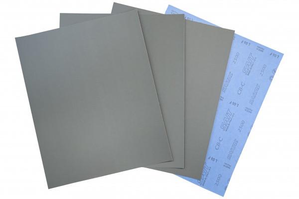Лист шлифовальный (наждачный) водостойкий SAIT, 230x280мм, P2000