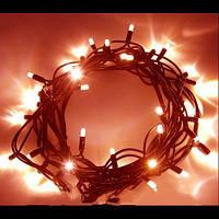 Новогоднее украшение для комнаты: гирлянда светящаяся 100LED 10м