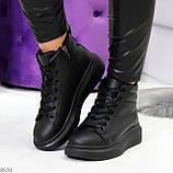 Черные женские молодежные повседневные кроссовки на каждый день, фото 9