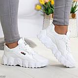 Стильные универсальные белые повседневные женские кроссовки 2021, фото 5