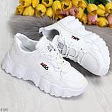 Стильные универсальные белые повседневные женские кроссовки 2021, фото 6