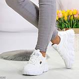 Стильные универсальные белые повседневные женские кроссовки 2021, фото 8