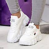 Стильные универсальные белые повседневные женские кроссовки 2021, фото 9