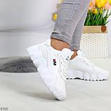 Стильные универсальные белые повседневные женские кроссовки 2021, фото 10