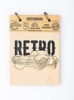 Скетчбук Drevych Retro А6 40 листов 0166122, КОД: 2447761