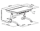 Комплект парта  FunDesk Volare Blue + ортопедическое кресло для подростков FunDesk Contento Grey, фото 10