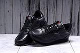 Кроссовки мужские 17792, Reebok Classic, черные, [ 41 42 43 44 45 46 ] р. 41-26,5см., фото 4
