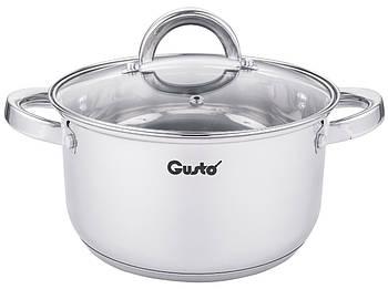 Кастрюля Gusto Solo Plus GT-1106-18 18 см, 2,3 л