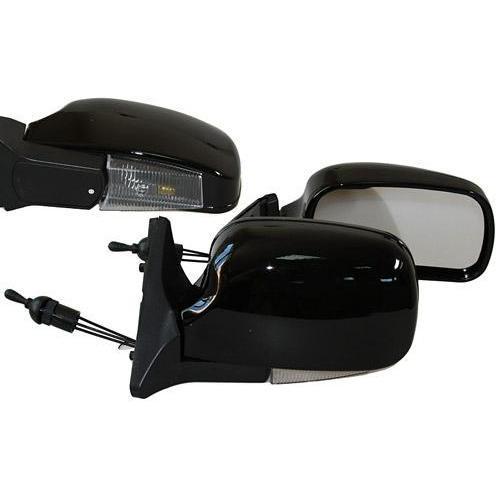 Зеркало боковое ЗБ 3109П/LADA Samara 08,09,13-15/BLACK/LED черн/пов (ЗБ 3109П BLACK/LED)