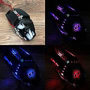 Игровая мышка Zornwee Equipmet Master GX20 с подсветкой мышь компьютерная для игр компьютера пк геймерская