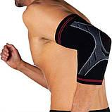 Налокотник спортивный OPROtec Elbow Sleeve TEC5748-XL Черный XL, фото 4