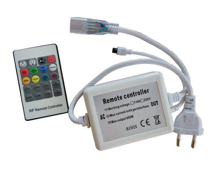 Контроллер 220V NEON RGB 10х20 - AC-1 (720W; IR; 20K)