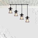 Подвесная люстра на 4-лампы SANDBOX-4 E27, фото 2