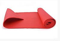 Йогамат MS 1184 (Красный), коврик для йоги,фитнес коврик,маты для йоги,фитнес