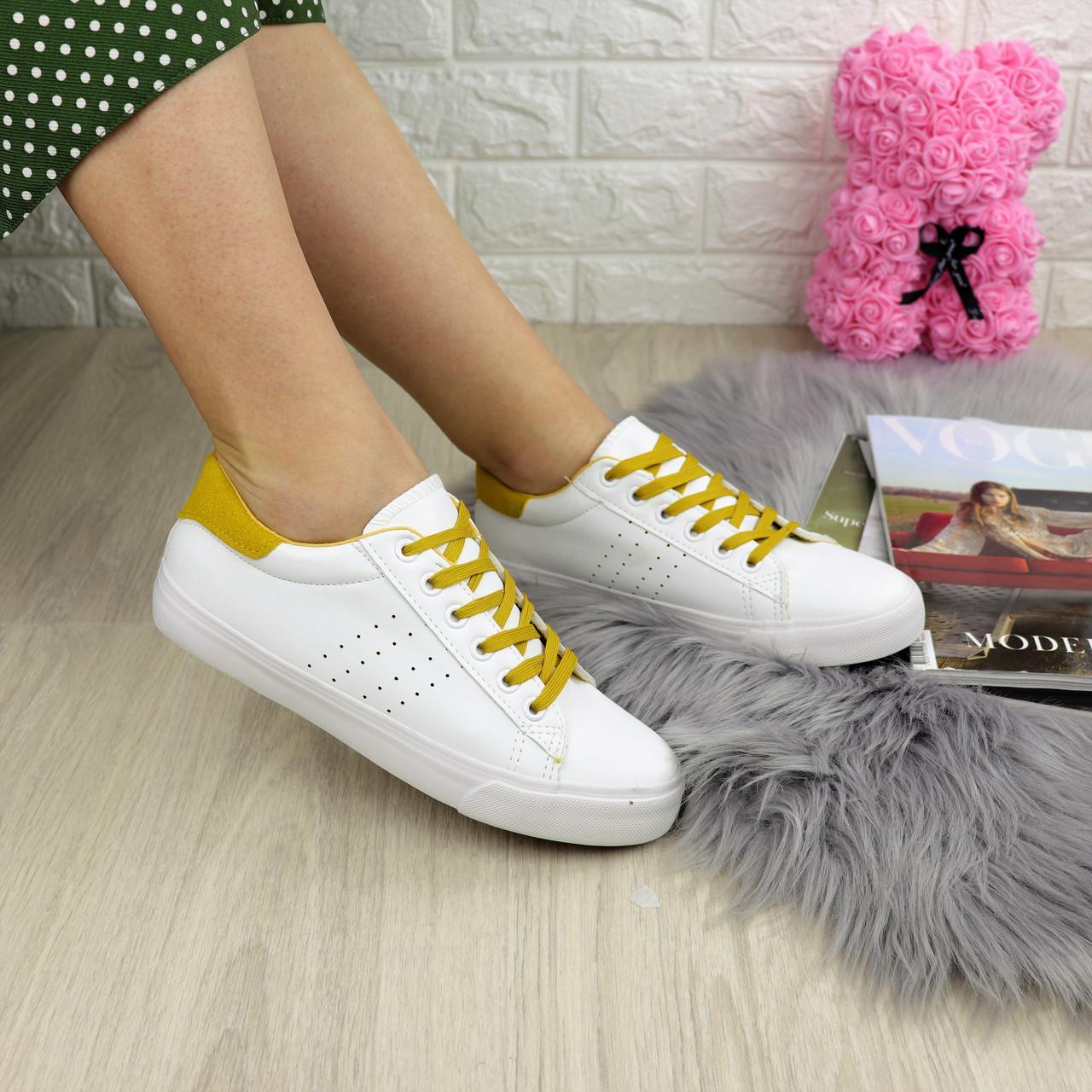 Жіночі кеди Fashion Karol 1223 38 розмір 24,5 см Білий