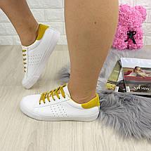 Женские кеды Fashion Karol 1223 38 размер 24,5 см Белый, фото 2
