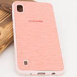 Уценка TPU чехол Textile Logo для Samsung Galaxy A10 (A105F), фото 3