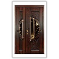 Дверь входная металлическая полуторная Soprano Vinorit Уличная