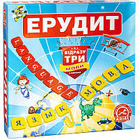 Настольная игра Arial Эрудит. Три языка 910091-3, КОД: 1318810