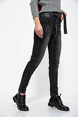 Джинсы женские 123R18479 цвет Серый, фото 3
