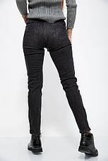 Джинсы женские 123R18479 цвет Серый, фото 2