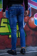 Джинсы мужские 123R15490 цвет Синий, фото 2