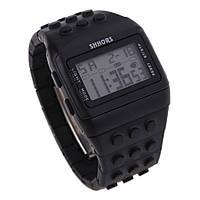 Электронные мужские наручные часы SHHORS SH-715 с подсветкой