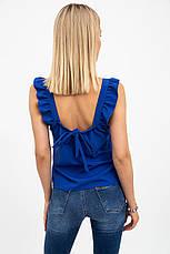 Блуза женская 119R618 цвет Синий, фото 2