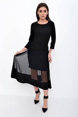Платье женское 119R461 цвет Черный, фото 2