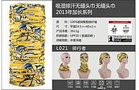 Баф бандана повязка косынка балаклава летняя торговой марки TUTNGEAR (ДЛИНА - 60 см) 021